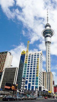 Skytower, Auckland City, New Zealand