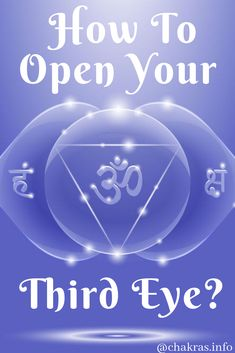 how to open your 3rd eye