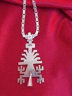 www.elbluff.blogspot.com: Plateria Mapuche Silver Necklaces, Silver Jewelry, Metal Clay, Dremel, Handmade Silver, Beaded Jewelry, Jewels, Beads, Alpacas
