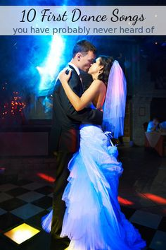 Top 10 New, Rare Bride & Groom First Dance Wedding Reception Songs www.rockinoutdjservice.com