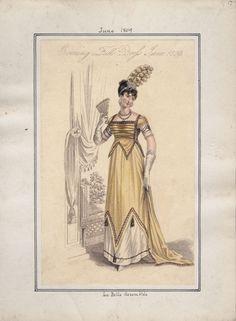 La Belle Assemblee, June 1809.