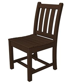 POLYWOOD® Traditional Recycled Plastic Garden Dining Side Chair   An  Excellent Choice For Any Outside Area, The Polywood Traditional Recycled  Plastic Garden ... Part 89