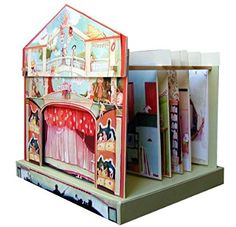 A great pre-cut model toy theatre. Theatre L'Italienne by Amulette. Toy theatre to build and perform on. Fun Crafts, Paper Crafts, Online Art Classes, Toy Theatre, Creative Box, Toy Craft, Paper Toys, Paper Puppets, Italian Style