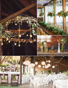 rustic wedding decoration and favors for spring wedding 2015