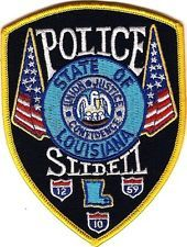 Slidell  Police Patch Louisiana