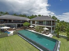 Villa Asada is a splendid contemporary 4 bedroom private villa,  blessed with one of the most spectacular coastline views in all of Bali in Candidasa.  $500/night
