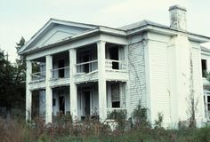 Front view, Clifton House, Franklin County, North Carolina