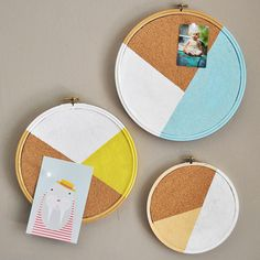 20 Ways to Repurpose an Embroidery Hoop via Brit + Co.