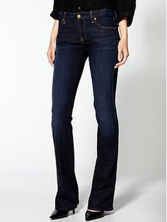 7 For All Mankind Kimmie Bootcut Jeans | Piperlime