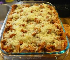 Baked Chicken Ziti Recipe using Chick-fil-A Chicken Nuggets #CFAMoms #nkycfa - It's Free At Last - My Reviews, Recipes, Giveaways, Travels and More