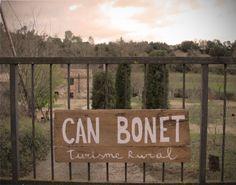 Nuevo cartel de Can Bonet, Sant Martí Vell Costa, Marti, Home Decor, Outer Space, Spaces, Viajes, Decoration Home, Room Decor, Home Interior Design