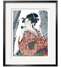 Woman Playing a Poppin