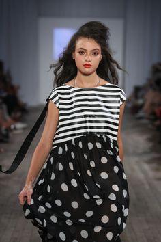 Amnesia, New York Fashion, Polka Dot Top, Tops, Women, Woman