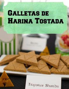 Galletas de harina tostada / Toasted flour cookies