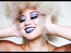 Glitter Disco Diva Makeup Tutorial: SMELLS like HALLOWEEN