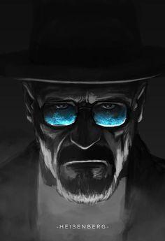 Breaking Bad ~ a must watch series  Heisenberg Breaking Bad art