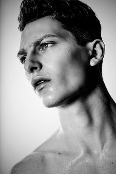 Great use of hard light for contrast in this set of stong male portraits by #JustinBridges