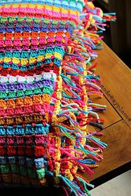 """homemade@myplace: I present you my """"Globetrotter Blanket"""" !!!!"""