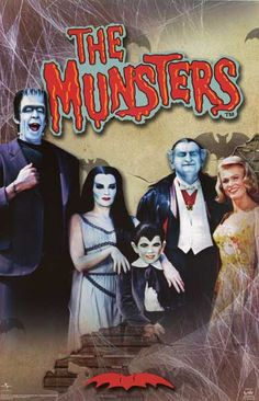 A fun poster of the cast of the classic TV show The Munsters! Fully licensed. Ships fast. 22x34 inches. Need Poster Mounts..? bm9363