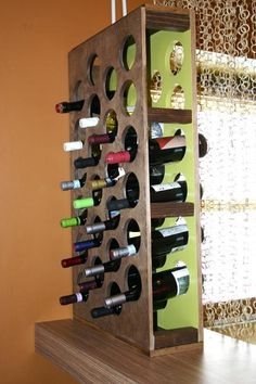 How to Build a Handcrafted Wine Rack | HGTV