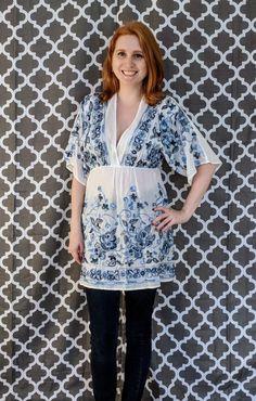 Bring on the Fall fashion with Stitch Fix Embroidered Tunic, Stitch Fix, Autumn Fashion, Bring It On, Tunic Tops, Women, Fall Fashion, Woman