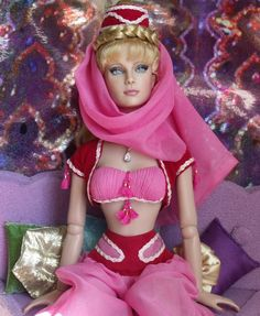 I Dream of Jeannie OOAK doll ~ShannonCraven on deviantART