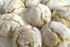 Craquelés au citron au Thermomix - Cookomix
