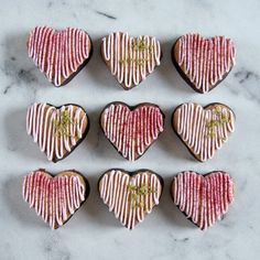 marzipan hearts with icing Danish Cuisine, Danish Food, Cake Decorating Tips, Occasion Cakes, Marzipan, Confectionery, Desert Recipes, Cream Pie, Tortilla Chips