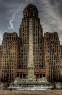 City Hall in Buffalo, New York State