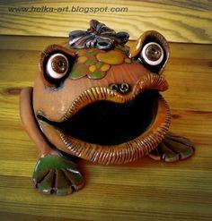 жаба керамика