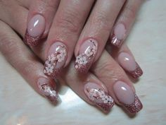 Sakura nail art :: one1lady.com :: #nail #nails #nailart #manicure
