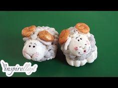 Masa solna - figurki z masy solnej - baranek wielkanocny - YouTube