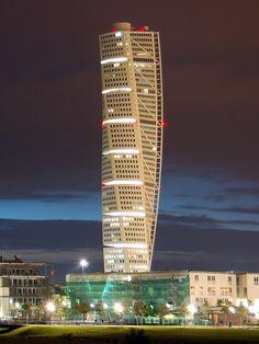 Turning torso, Malmö, Sweden Santiago Calatrava