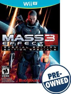 Mass Effect 3: Special Edition — PRE-Owned - Nintendo Wii U