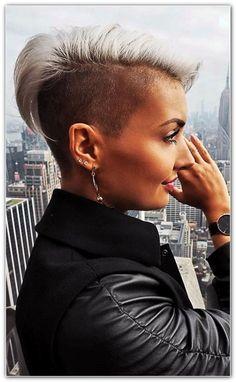10+ idées de coupe de cheveux tendance Edgy Pixie, Undercut Women, Mohawk Hairstyles, Hair Inspiration, Short Hair Styles, Hair Beauty, Club, Fashion, Shaved Hairstyles