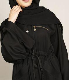 GOLD POCKET ZIP ABAYA   Perfect for an everyday abaya perfect piece for Ramadan.  www.missabaya.com  #missabaya #abaya #ramadan #black #wardrobe #fashion #fashionista #zip #pocket #gold #botton #muslim #muslimah #muslimahfashion #Instagram #wiwt #Sunday #hijab #lifestyle #arabicfashion #dubaifashion #saudifashion #vogue #fashionicon