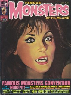 Famous Monsters of Filmland #horror
