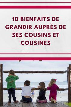Et vous, avez-vous ressenti ces bienfaits si vous avez grandi auprès de vos cousins et cousines? Cousins, Movies, Movie Posters, Growing Up, Tips And Tricks, Everything, Films, Film Poster, Cinema