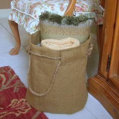 75 Creative Craft Ideas Using Burlap