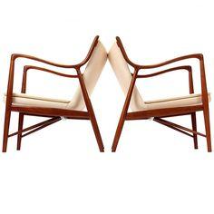 The 45 Chair By Finn Juhl/Niels Vodder