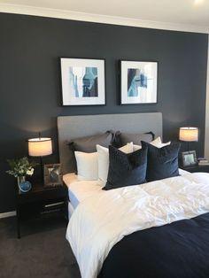 36 cozy blue master bedroom design ideas 17 in 2019 Cool Bedroom Furniture, Home Decor Bedroom, Modern Bedroom, Furniture Ideas, Trendy Bedroom, Contemporary Bedroom, Bedroom Inspo, Furniture Buyers, Bedroom Plants