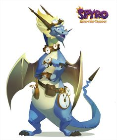 Monster Characters, Fictional Characters, Design Visual, Spyro The Dragon, Photoshop, Dragon Design, Devon, Game Art, Character Design