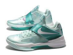 Nike KD IV - Easter, Mint Green