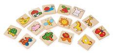 Op 32 plaatjes (ca. 4,7 x 0,3 cm) zijn kindvriendelijke motieven in paren afgebeeld, die samen op tafel moeten worden gelegd. Hier leren kinderen hun vaardigheden op speelse wijze kennen en oefenen!