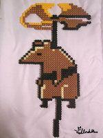 shovel knight perler | Perler Beads Shovel Knight