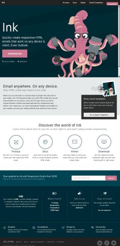 Zurb Email Templates - Friends And Relatives Records Html Email Design, Responsive Email, Email Client, Email Newsletters, Email Templates, Ink, Learning, Create