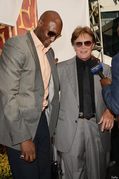 Lamar Odom and Bruce Jenner