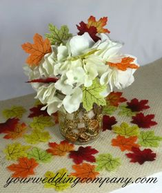 Adorn tabletops with these miniature silk maple leaves, or use them to decorate favors and invitations with a colorful fall theme. Reuse them after the wedding for rustic autumn events such as Thanksgiving or Halloween. Fall Wedding Centerpieces, Wedding Reception Tables, Silk Rose Petals, Silk Roses, Centerpiece Decorations, Autumn Theme, Autumn Leaves, Miniatures, Accessories