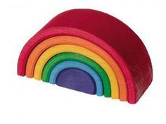 Grimms, Rainbow Stacker, FREE Global Shipping 175+