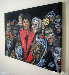Image detail for -Michael jackson thriller $1800 - Tattoo Artists.org